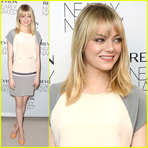 Emma Stone Launches Revlon's 'Nearly Naked' Line