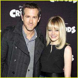 Emma Stone & Ryan Reynolds Present 'The Croods'