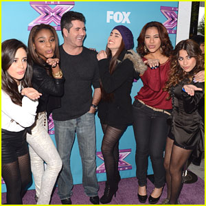 Fifth Harmony Singing With Demi Lovato for 'X Factor' Finale!