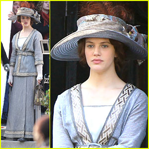 Jessica Brown Findlay Films 'Winter's Tale'