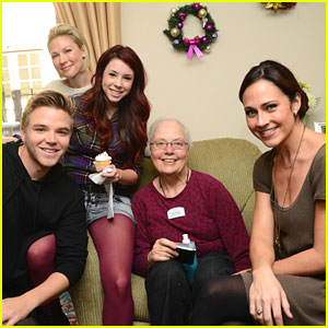 Jillian Rose Reed: Grandparents Gone Wired! | Brett Davern ...