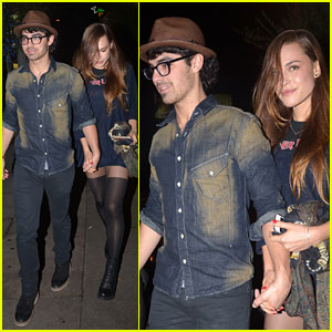Joe Jonas: Date Night with Blanda Eggenschwiler!