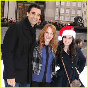 Katie Leclerc & Vanessa Marano: 'Switched' Skaters at Rockefeller Center