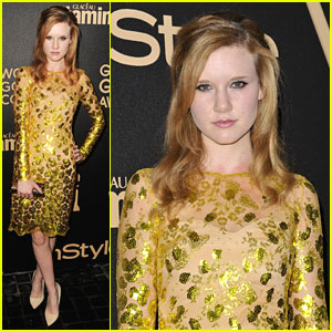 Madisen Beaty: InStyle Golden Globe Party
