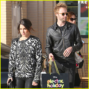 Nikki Reed & Paul McDonald Have An 'Electric Holiday'