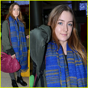 Saoirse Ronan: Back to Ireland for the Holidays