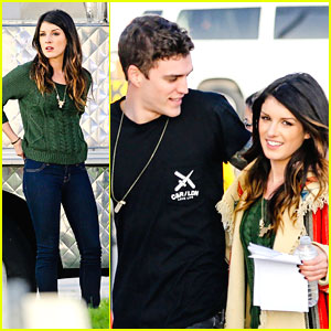 Shenae Grimes & Josh Beech: '90210' Set After Engagement Announcement