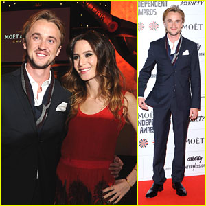 Tom Felton & Jade Olivia: British Independent Film Awards 2012