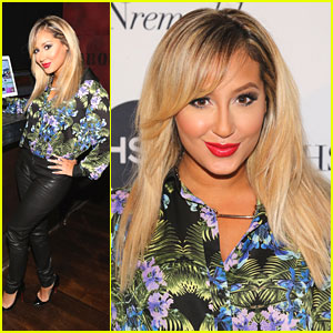 Adrienne Bailon Debuts New Look!