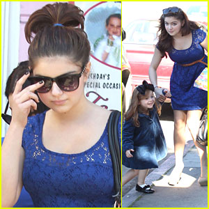 Ariel Winter: Sunday Birthday Party with Niece Skylar