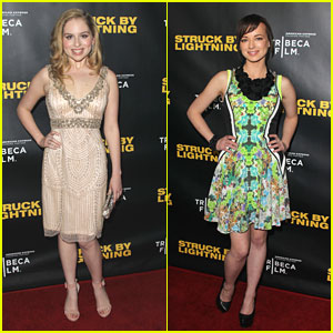 Ashley Rickards &#038; Allie Grant are 'Struck by Lightning'