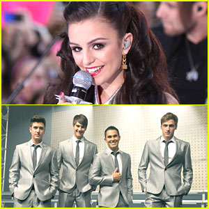 Cher Lloyd Gets A 'Big Time Rush'