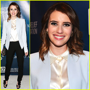 Emma Roberts: Help Haiti Home Gala