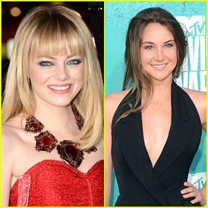 Emma Stone on Shailene Woodley: 'She's Really Cool'