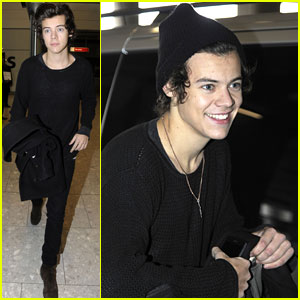 Harry Styles: Back in London!