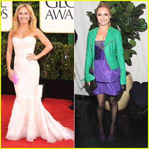 Hayden Panettiere: Golden Globe Awards 2013
