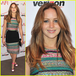 Jennifer Lawrence: AFI Awards 2013