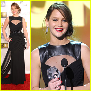 Jennifer Lawrence: Critics' Choice Awards 2013 Winner