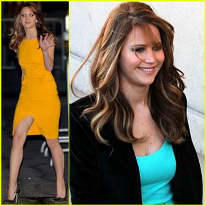 Jennifer Lawrence: 'Jimmy Kimmel Live' Appearance