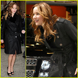 Jennifer Lawrence: 'Live With Kelly &#038; Michael' Taping