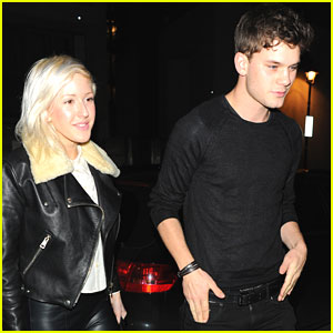 Jeremy Irvine: Zuma Dinner Date with Ellie Goulding