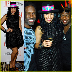 Jordin Sparks: New Year's Eve in Vegas!