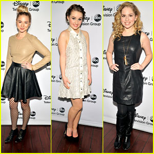 Allie Gonino: ABC TCA Party with Kaitlyn Dever &#038; Allie Grant