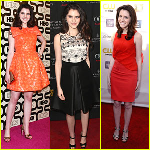 Kara Hayward: Golden Globe After Parties 2013