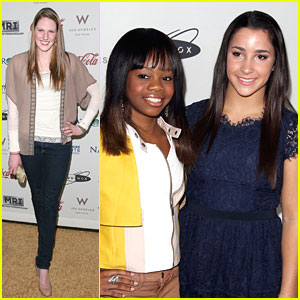 Aly Raisman, Gabby Douglas & Missy Franklin: Gold Meets Golden Event