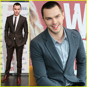 Nicholas Hoult: 'Warm Bodies' in Rome!