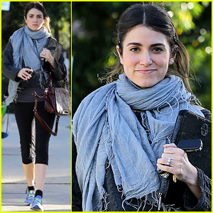 Nikki Reed: Pilates Class Cutie