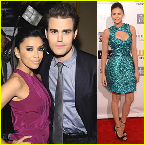 Nina Dobrev & Paul Wesley: Critics' Choice Awards 2013