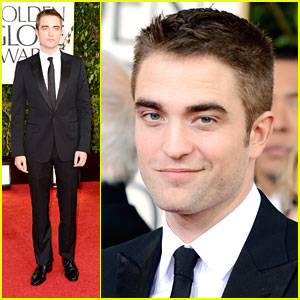 Robert Pattinson: Golden Globe Awards 2013