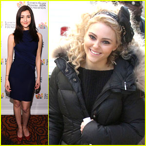 AnnaSophia Robb: Bow-tiful on 'Carrie Diaries' Set