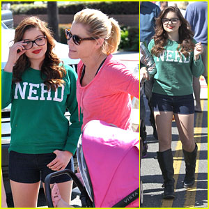 Ariel Winter: Farmer's Market Meet Up with Julie Bowen