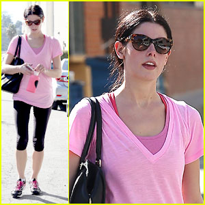Ashley Greene: Gym Junkie