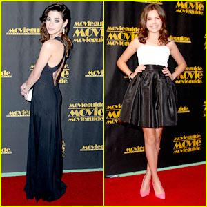 Bailee Madison & Gia Mantegna: MovieGuide Awards 2013