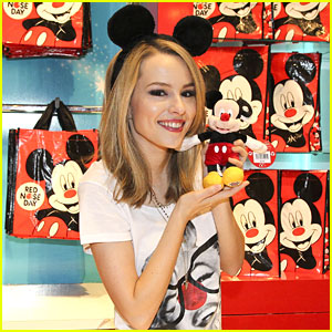 Bridgit Mendler: Comic Relief Supporter!