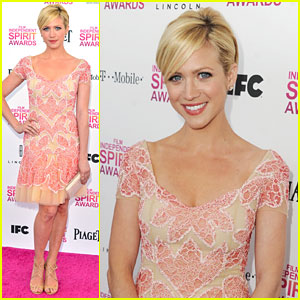 Brittany Snow: Independent Spirit Awards 2013