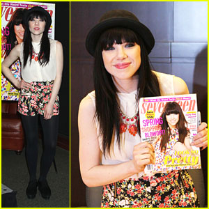 Carly Rae Jepsen: Seventeen Cover Signing!