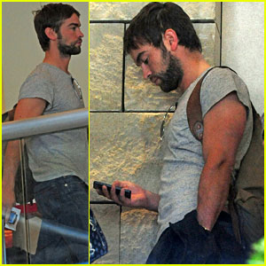 Chace Crawford: 'Gossip Girl' Season 6 Bloopers!