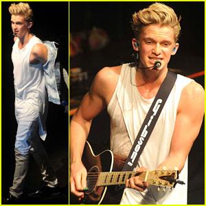 Cody Simpson: Dublin Concert Pics!