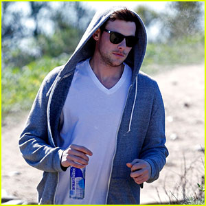 Cory Monteith: Morning Hike!