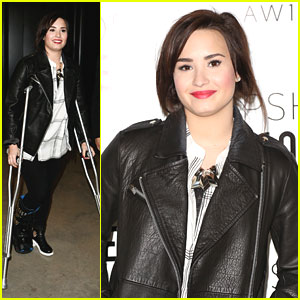 Demi Lovato: Topshop Show at London Fashion Week