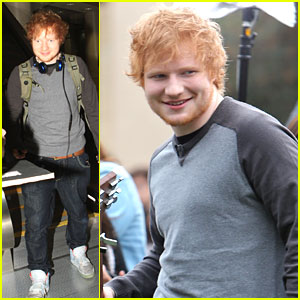 Ed Sheeran: 'CBS This Morning' Appearance