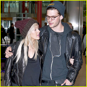 Ellie Goulding & Jeremy Irvine: Airport Couple!