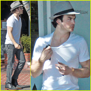 Ian Somerhalder: WeHo Lunch Guy!