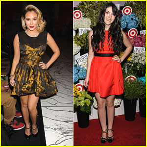 Isabelle Fuhrman & Adrienne Bailon: Prabal Gurung For Target Launch