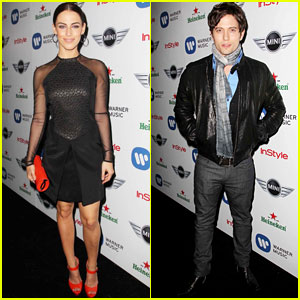 Jackson Rathbone & Jessica Lowndes: Post-Grammy's Party