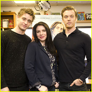 Jake Abel & Max Irons Share Fave 'Host' Moments